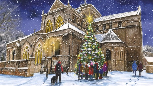 Romsey Abbey Christmas Card